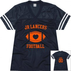 Ladies Heart Football Jersey