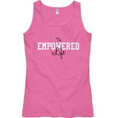 Empowered Life brand logo tank