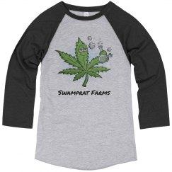 Swamprat Farms 3/4 sleeve shirt