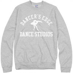 Dancer's edge crewneck sweatshirt