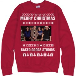 Baked Goods Christmas Crewneck