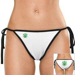 GB Green Leaf Bikini Bottom