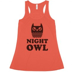 Glassy Eyed Night Owl