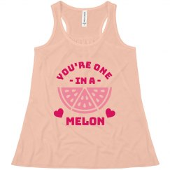 You're One in a Melon Valentine's Tank