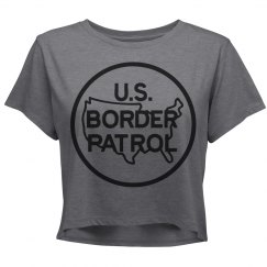 US Border Patrol Crop Shirt