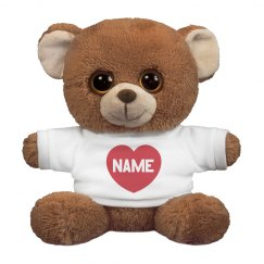 Heart Bear Name Here