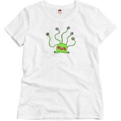 Alien - Misses Fruit of the Loom Tee