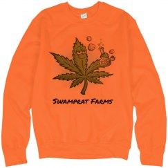 Swamprat Farms Neon Sweatshirt