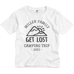 Custom Family Vacation Camping Trip