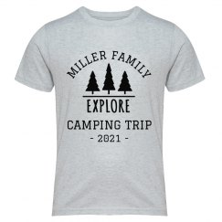 Family Camping Trip Group Shirts