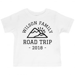 Family Road Trip Personalized Kids