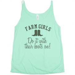 Farm Girls Do It With Their Boots On