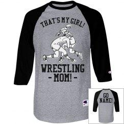 Custom Wrestling Mom