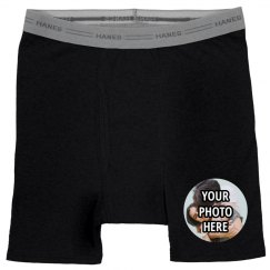 Custom Couples Photo Briefs