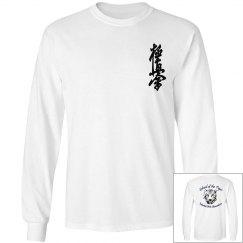 Long Sleeve Shirt with Kanji and Logo