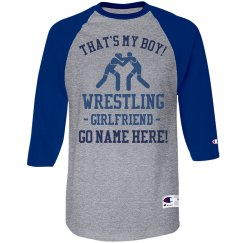 That's My Boy Custom Wrestler Girlfriend Tee