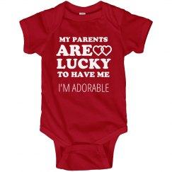 Lucky Valentine's Parents