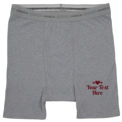 Valentine's Day Boxer Briefs