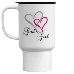 God's Girl Travel Mug