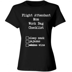 Flight Attendant Mom