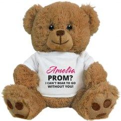 Custom Name Prom? Bear