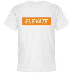 Elevate Tshirt- Orange