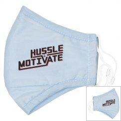 Hussle & Motivate  Youth Mask