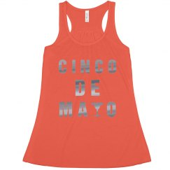 Metallic Cinco De Mayo Tank