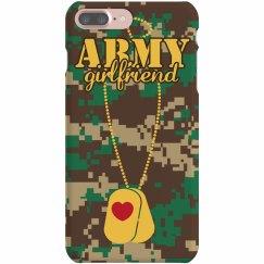 Army Girlfriend Tag Case