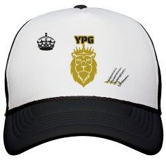 YPG YUNGBEA$T PROMO B&W GOLD SNAPBACK