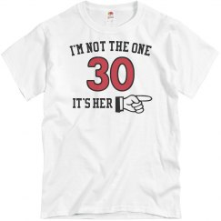 I'm not the one 30