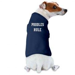 Poodles Rule - T-shirt.3