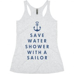 Shower With a Sailor