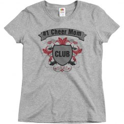 #1 cheer mom club