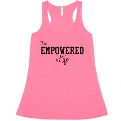 Empowered Life Logo Tank