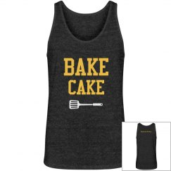 Bake Cake Mens Black V