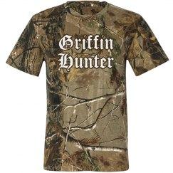 Griffin Hunter T shirt for DAN!