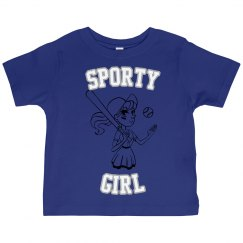 Sporty Girls Baseball T-shirt