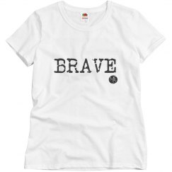 One Word Tee: BRAVE