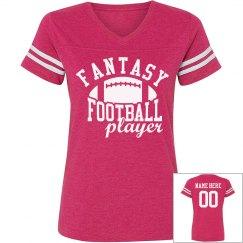 Custom Fantasy Football Woman