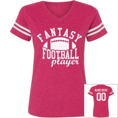Custom Fantasy Football Woman