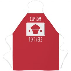 Customizable Baker's Apron