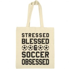 Blessed Soccer Mom Bag
