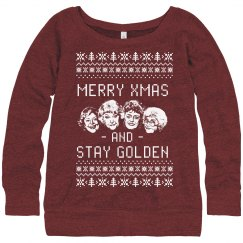 Stay Golden Merry Christmas