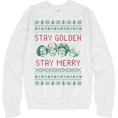 Stay Golden Girls Ugly Chrismas