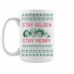 Stay Golden Girls Merry Christmas