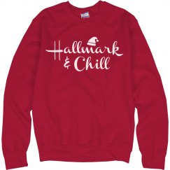 Hallmark & Chill Ugly Xmas Sweater
