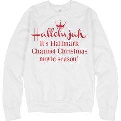 Hallelujah Hallmark Parody Sweater