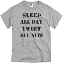 Sleep and tweet