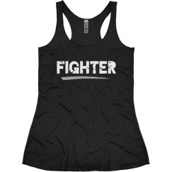 FIGHTER Racerback Tank